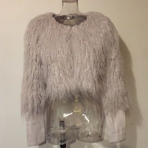 BB Dakota Faux Fur Cropped Jacket